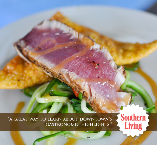 Taste carolina gourmet food tours for Gourmet meals to make at home